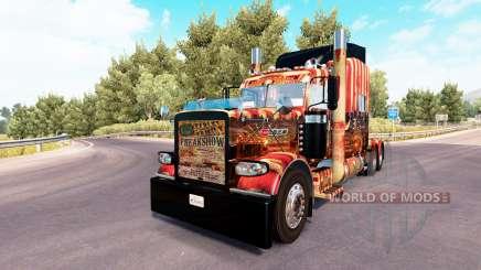 Creepy Carnevil de la peau pour le camion Peterbilt 389 pour American Truck Simulator