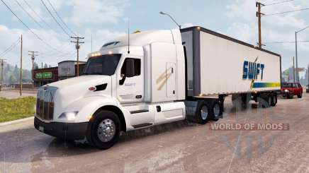 Peaux pour la circulation des camions v1.1 pour American Truck Simulator
