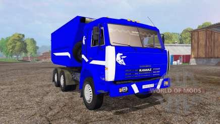 KamAZ 55111 v3.0 pour Farming Simulator 2015