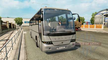 Une collection de bus dans la circulation v1.3 pour Euro Truck Simulator 2