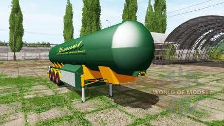 Manure trailer pour Farming Simulator 2017