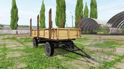 Timber trailer automatic loading pour Farming Simulator 2017