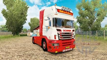 Scania R-series V8 Mulder pour Euro Truck Simulator 2