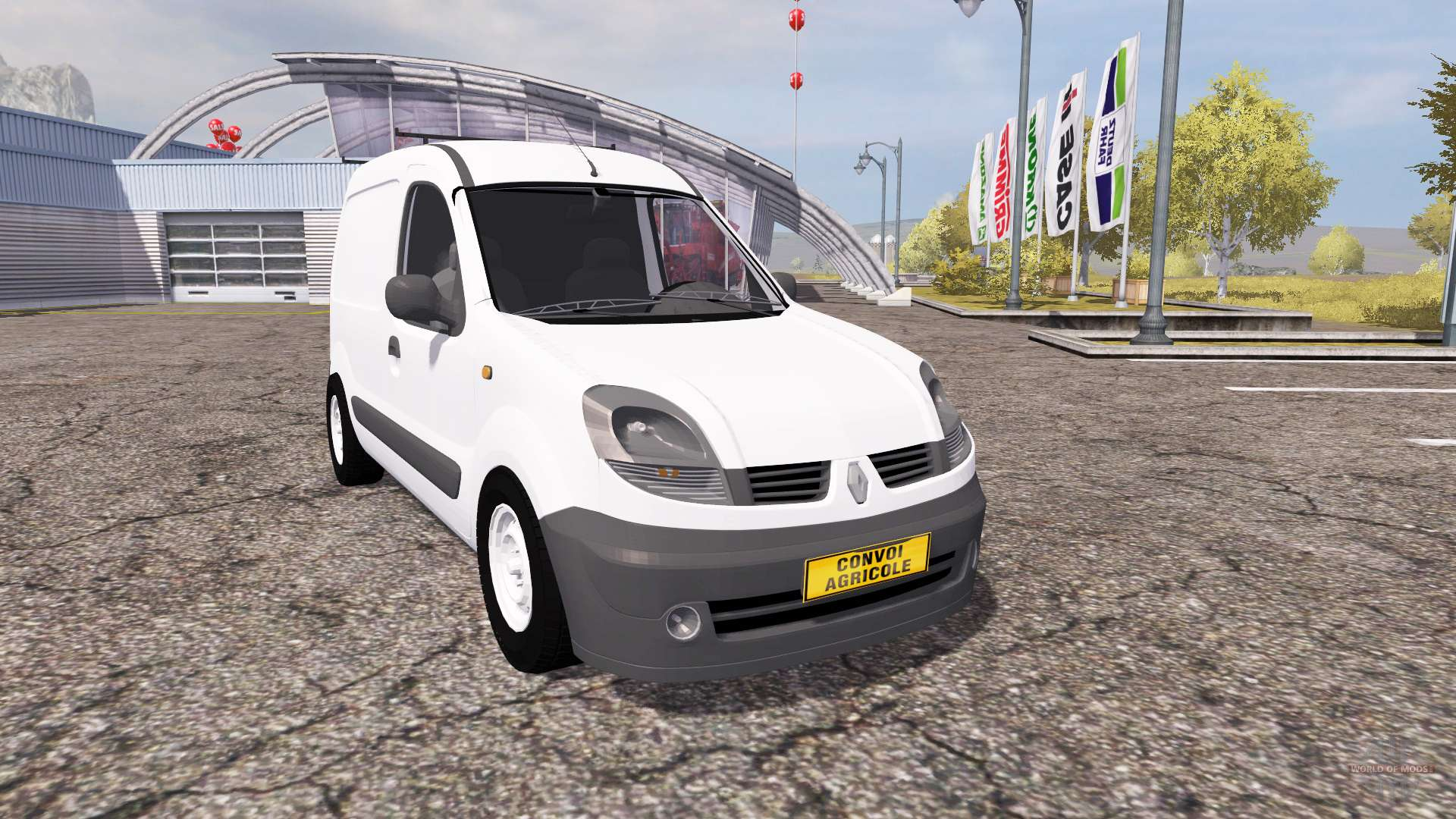 renault kangoo v2 0 pour farming simulator 2013. Black Bedroom Furniture Sets. Home Design Ideas