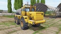 Kirovets K 701 6x6 réservoir pour Farming Simulator 2017