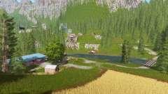 Goldcrest mountains v2.5 pour Farming Simulator 2017