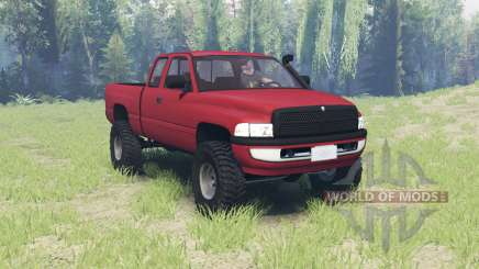 Dodge Ram 2500 Club Cab 2000 für Spin Tires