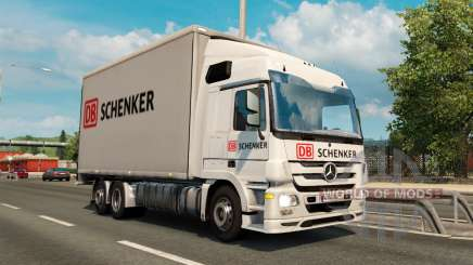 Tandem truck traffic v1.1 pour Euro Truck Simulator 2