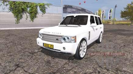Land Rover Range Rover Supercharged (L322) 2009 pour Farming Simulator 2013