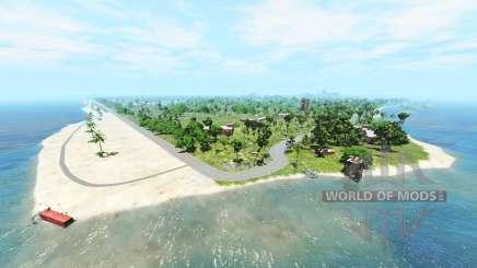 Cadort island v1.2.1 für BeamNG Drive