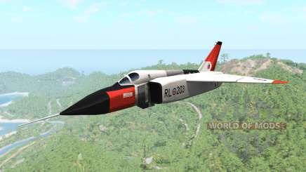 Avro CF-105 Arrow für BeamNG Drive