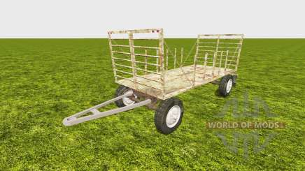 Bale trailer v2.0 für Farming Simulator 2013