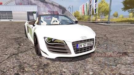 Audi R8 Spyder v1.1 pour Farming Simulator 2013