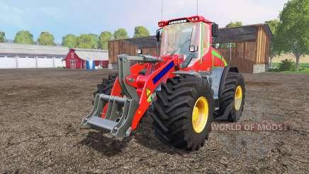 Liebherr L538 big wheels pour Farming Simulator 2015
