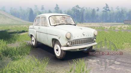 Moskvitch 407 pour Spin Tires