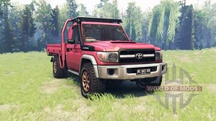 Toyota Land Cruiser 70 (J79) v1.1 pour Spin Tires