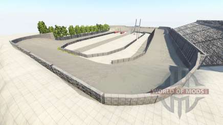 Death oval v1.1 pour BeamNG Drive