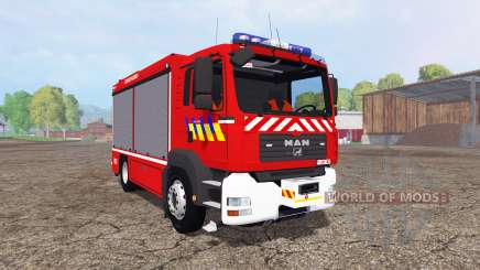 MAN TGA 28.430 Fire Rescue für Farming Simulator 2015