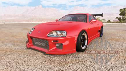 Toyota Supra engine pack v2.0 für BeamNG Drive