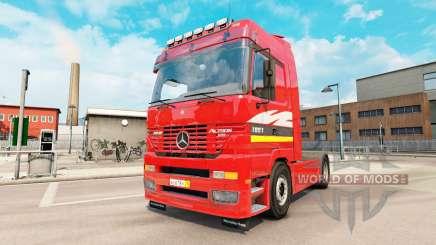 Mercedes-Benz Actros MP1 v2.5 pour Euro Truck Simulator 2
