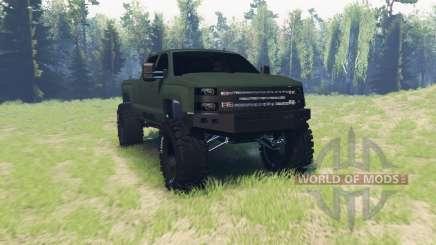 Chevrolet Silverado 3500 HD Crew Cab pour Spin Tires