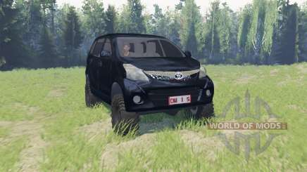 Toyota Avanza pour Spin Tires