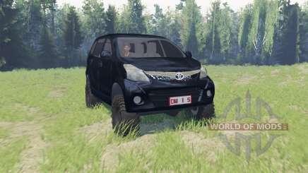 Toyota Avanza für Spin Tires