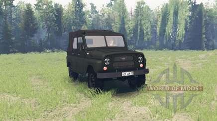 UAZ 469 1971 pour Spin Tires