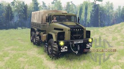 KrAZ 260 Phantom für Spin Tires