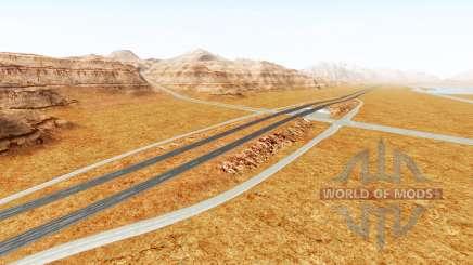Interstate highway für BeamNG Drive