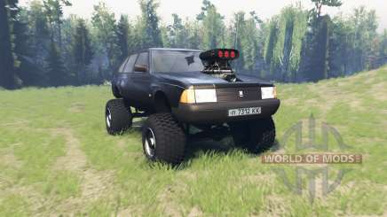 Moskvich 2141 Varan pour Spin Tires