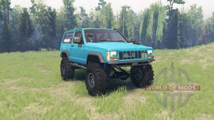 Jeep Cherokee (XJ) 1990 pour Spin Tires