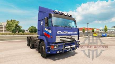 KamAZ 6460 v2.Trois pour Euro Truck Simulator 2
