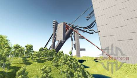 Death fall v5.0 pour BeamNG Drive