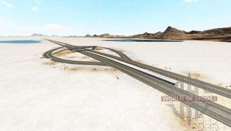 Bonneville Salt Flats v1.2 für BeamNG Drive
