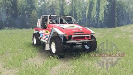 Toyota Land Cruiser (FJ40) Serigala Militia für Spin Tires