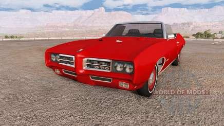 Pontiac GTO 1969 pour BeamNG Drive