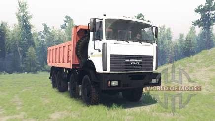 MZKT 6527 für Spin Tires