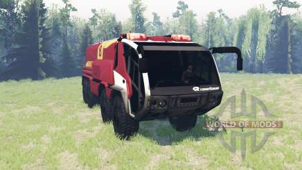Rosenbauer Panther 8x8 CA7 v0.9 pour Spin Tires