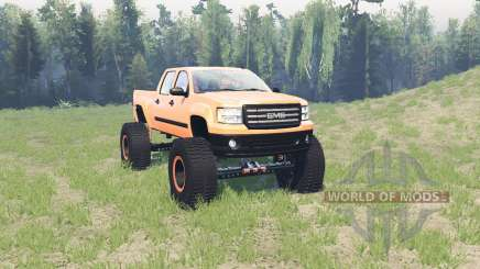 GMC Sierra (GMT900) BigFoot pour Spin Tires
