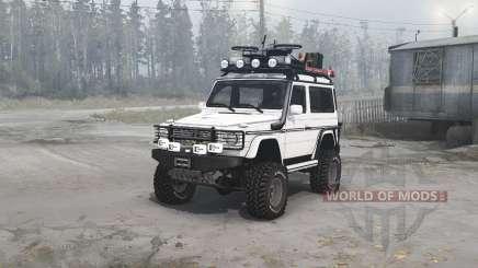 Mercedes-Benz G 500 SWB (W463) pour MudRunner