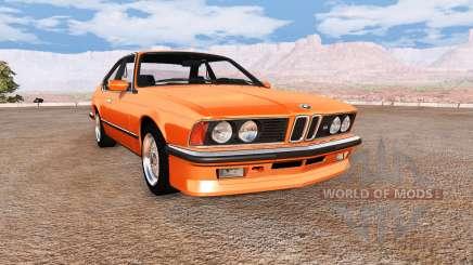 BMW M635 CSi (E24) v2.0 pour BeamNG Drive