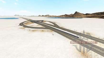 Bonneville Salt Flats v1.2 pour BeamNG Drive