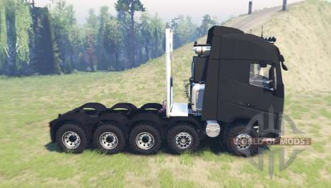 Volvo FH16 10x10 pour Spin Tires