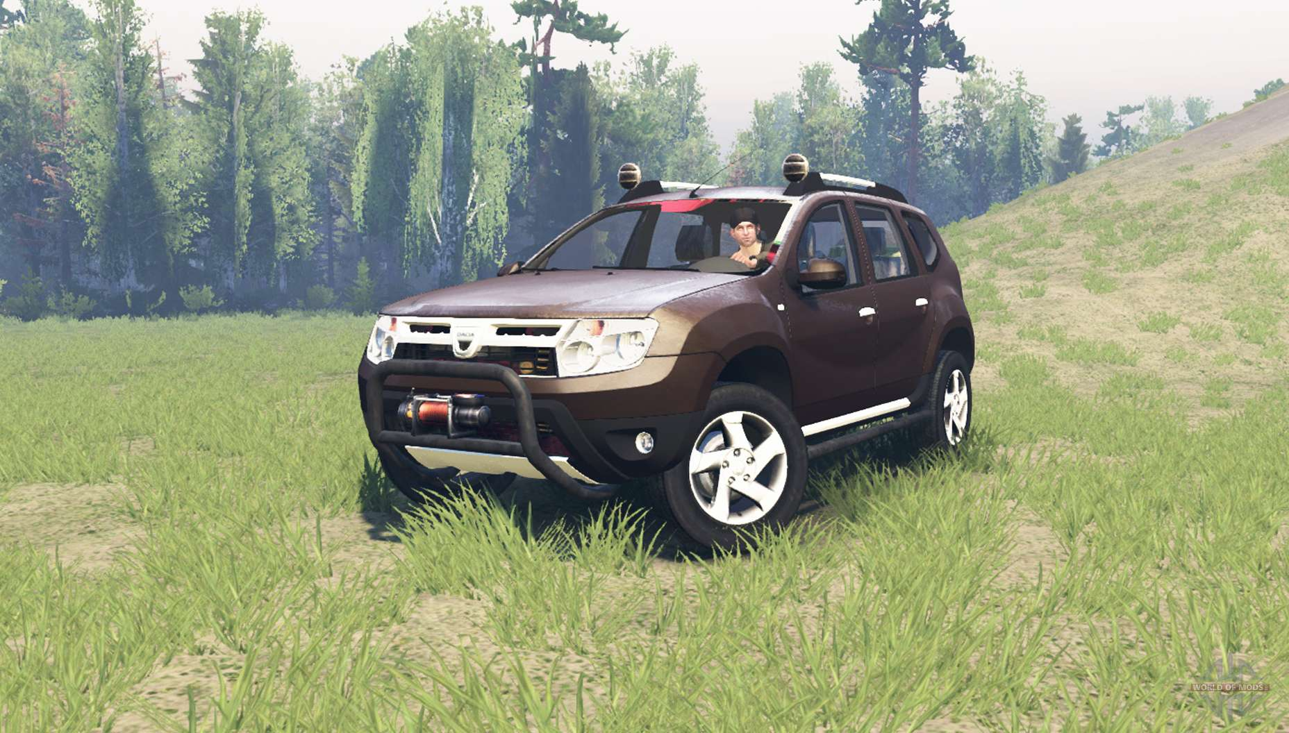 dacia duster pour spin tires. Black Bedroom Furniture Sets. Home Design Ideas