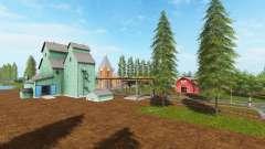 Canadian national map v1.2 pour Farming Simulator 2017