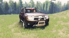 Dacia Duster pour Spin Tires