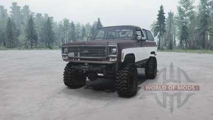 Chevrolet K5 Blazer für MudRunner