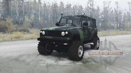 UAZ 3172 scout pour MudRunner