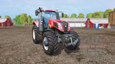 New Holland T8.435 red power pour Farming Simulator 2015